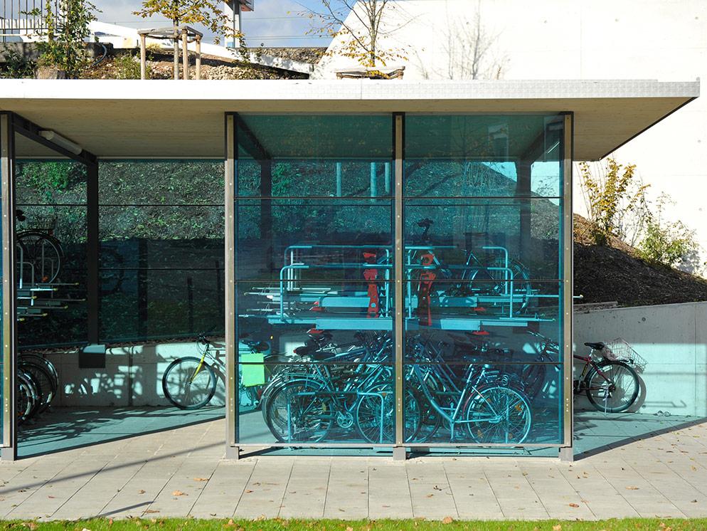 Fahrräder nebeneinander