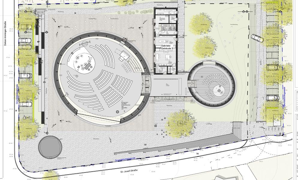 Lageplan des Geländes